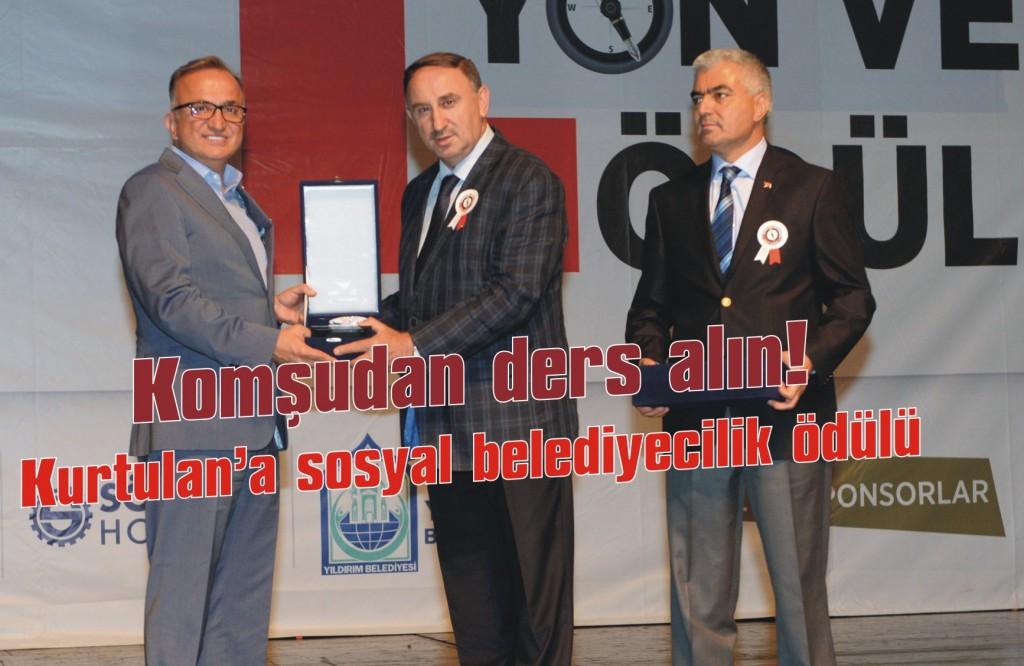 Kurtulan'a sosyal belediyecilik ödülü