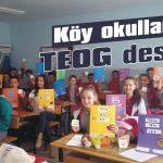 Köy okullarına TEOG desteği