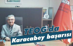 TEOG'da Karacabey başarısı