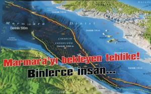 Marmara'da canlı fay sistemi var
