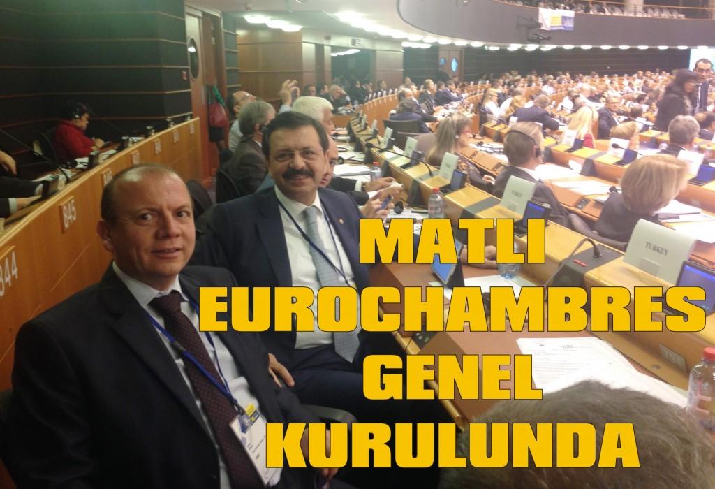 Matlı, eurochambres genel kurulunda