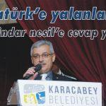 Atatürk'e yalanlama 'dindar nesil'e cevap yok!