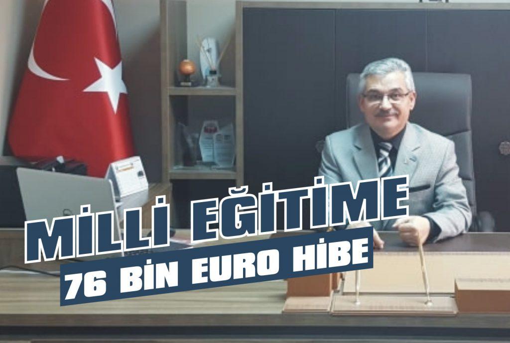 Milli Eğitime 76 bin Euro hibe