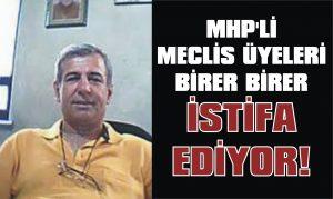 MHP'de bir istifa daha!