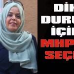 Dik duruş için MHP'yi seçin