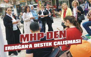 MHP'den Erdoğan'a destek çalışması