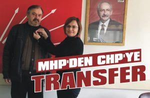 MHP'den CHP'ye transfer
