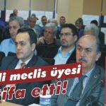 MHP'li meclis üyesi istifa etti!