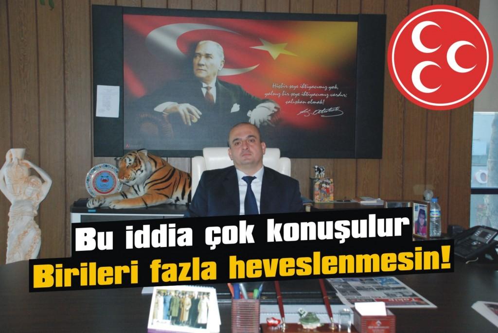 MHP'de Vedat Mert sesleri!