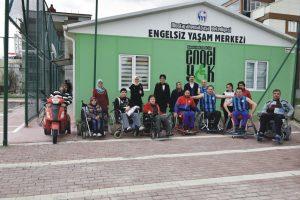 Engellilere yeni sosyal tesis