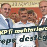 MKP'li muhtarlara Altepe desteği!