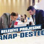 Belediye projesine TANAP desteği