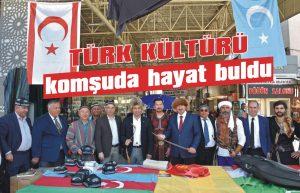 Türk kültürü komşuda hayat buldu