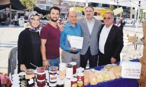 Yöresel üreticilere sertifika