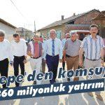 Komşuya 360 milyonluk yatırım