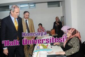 Mustafakemalpaşa'ya 'halk üniversitesi'