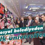 Sosyal belediyeden 'halk üniversitesi'