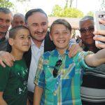 Başkan Kurtulan 'halk günü' yapıyor