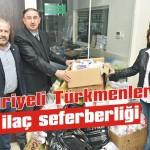 Suriyeli Türkmenlere ilaç seferberliği