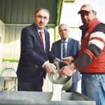 Süt üreticilerine büyük destek