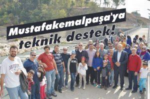 Mustafakemalpaşa'ya teknik destek!