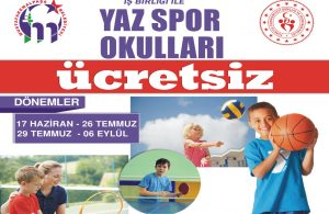 Belediyeden Yaz Spor Okulları