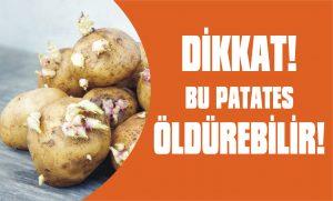 Dikkat! Bu patates öldürebilir!