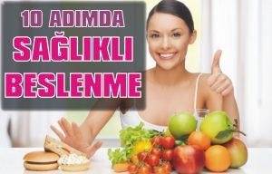 10 adımda sağlıklı beslenme