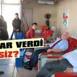 Müftülük personeli kan bağışladı