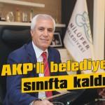 AKP'li belediyeler sınıfta kaldı