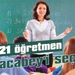 21 öğretmen Karacabey'i seçti