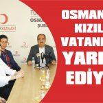 Osmangazi Kızılay vatandaşa yardım ediyor