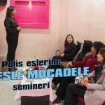 Polis eşlerine stresle mücadele semineri