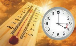 Yaz saati uygulaması sıcaklarla geliyor