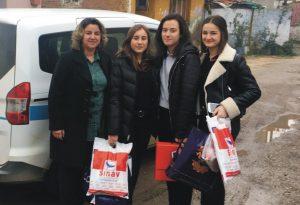 Sınav öğrencilerinden örnek kampanya