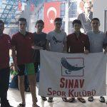 Yüzmede Türkiye 2.'si 'sınav'dan!