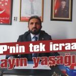 AKP'nin tek icraatı yayın yasağı