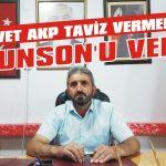 AKP taviz vermedi Brunson'u verdi