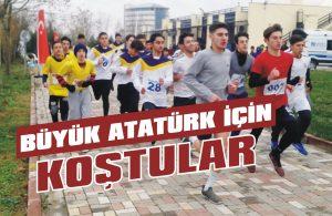 Büyük Atatürk için koştular