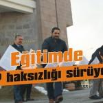 Eğitimde AKP haksızlığı sürüyor!