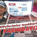 Takip Gazetesi 7 yaşında