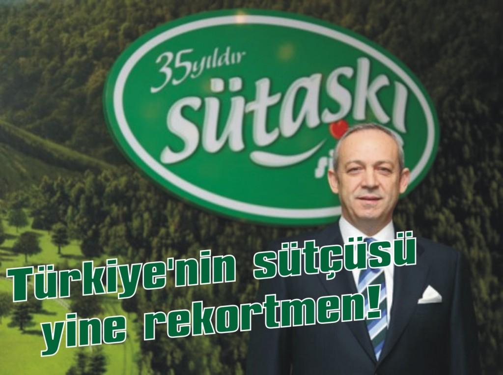 Türkiye'nin sütçüsü yine rekortmen!