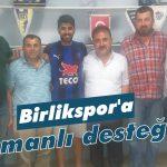 Birlikspor'a Osmanlı desteği!