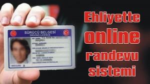 Ehliyet için 'online' randevu sistemi