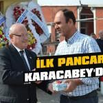 İlk pancar Karacabey'den